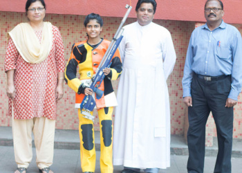 Akansha-Shinde-national-level-rifle-shooting